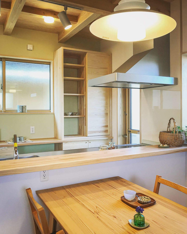 キッチン背面家具