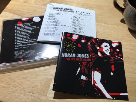 ノラ・ジョーンズ初のライブ盤にしてベスト盤/NORAH JONES/'TIL WE MEET AGAIN