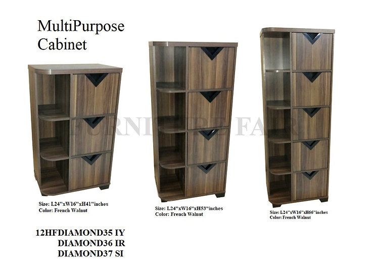 MultiPurpose Cabinet 12HFDIAMOND35 IY