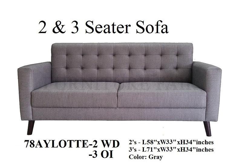 2 & 3 Seater Sofa 78AYLOTTE-2WD 3OI