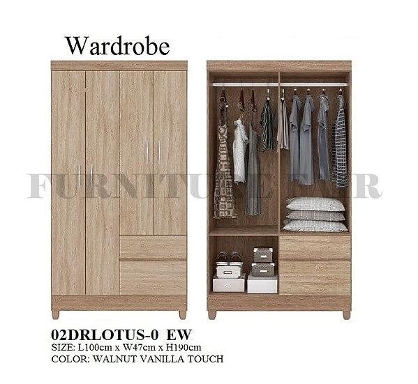 Wardrobe 02DRLOTUS-0 EW
