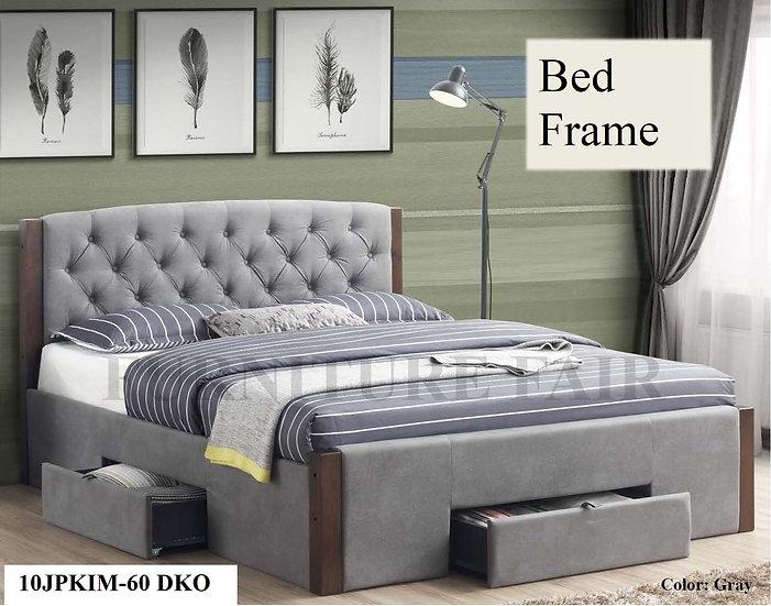 Upholstered Bedframe 10JPKIM-60 DKO