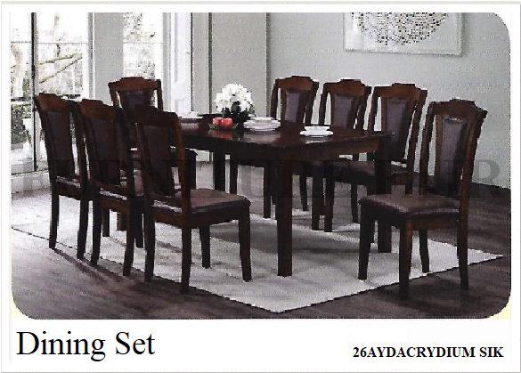 Dining Set 26AYDACRYDIUM SIK