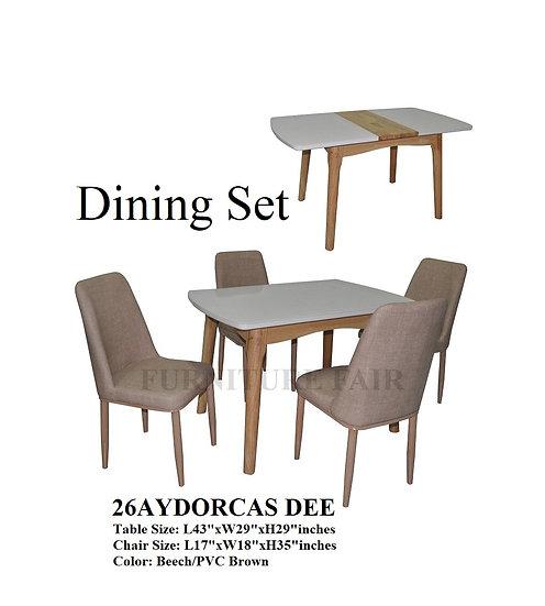 Dining Set 26AYDORCAS DEE