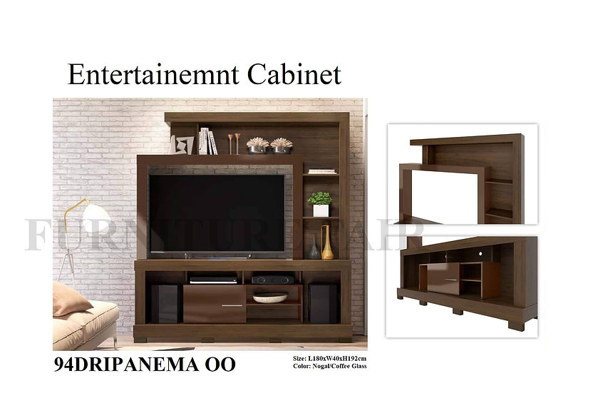 Entertainment Cabinet 94DRIPANEMA OO