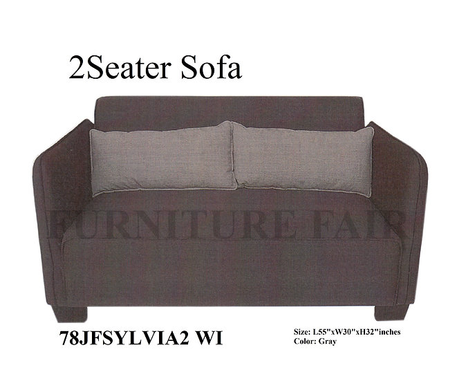 2 Seater Sofa 78JFSYLVIA WI