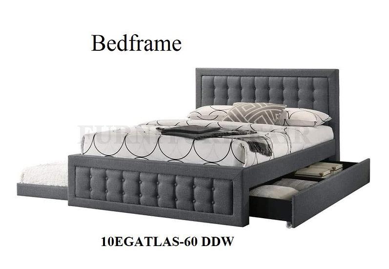 Bedframe 10EGATLAS-60 DDW