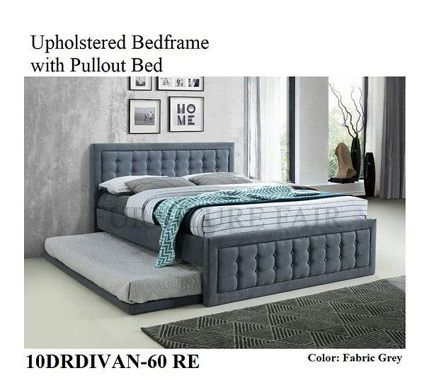 Upholstered Bedframe 10DRDIVAN-60 RE