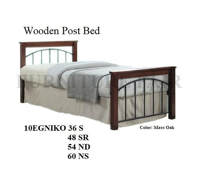 Wooden Post Bed10EGNIKO