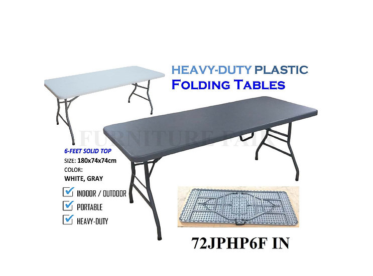 Folding Table 72JPHP6F IN