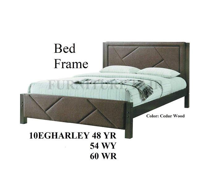 Upholstered Bedframe 10EGHARLEY 48YR 54WY 60WR