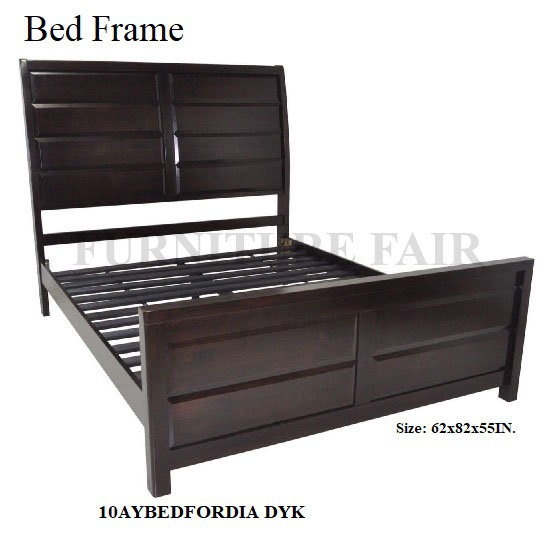 Bed Frame 10AYBEDFORNIA DYK