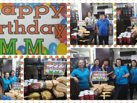 Happy Birthday Ms. MM