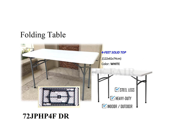 Folding Table 72JPHP4F DR