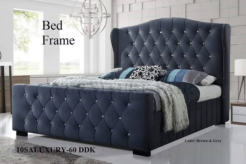 Upholstered Bedframe 10SALUXURY-60 DI 72-DSE