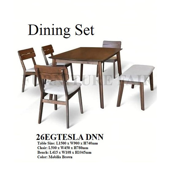 Dining Set 26EGTESLA DNN