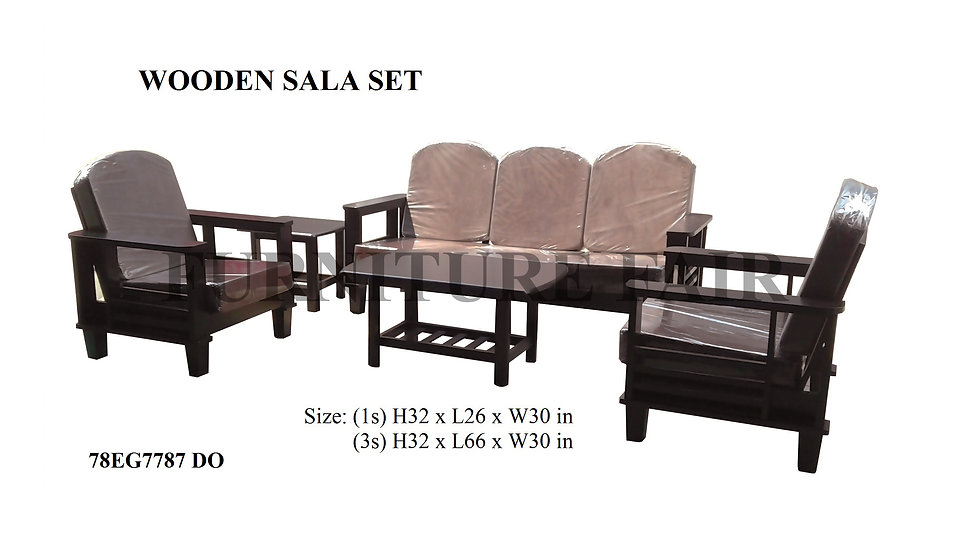 Wooden Sala Set 78EG7787 DO