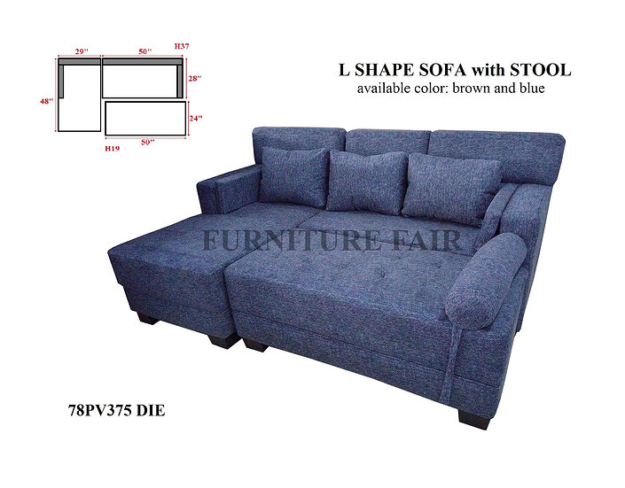 Sala Set L-Shape 78PV375 DIE