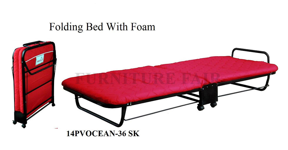 Folding Bed With Foam 14PVOCEAN-36 SK