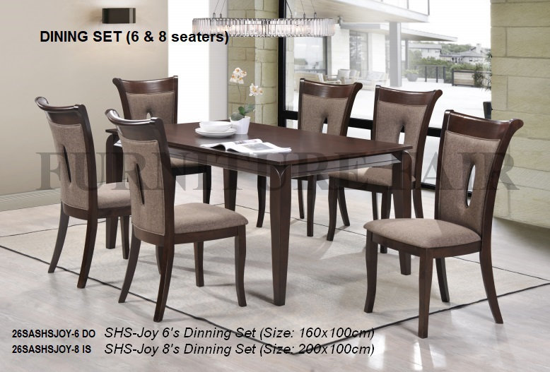 Dining Set 6 Seater 26SAJOY-6 IK