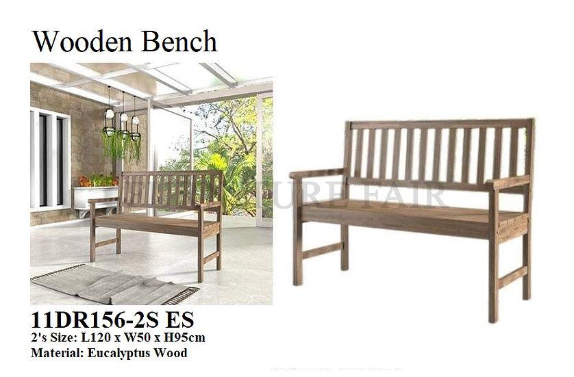 Wooden Bench 11DR156-2S ES