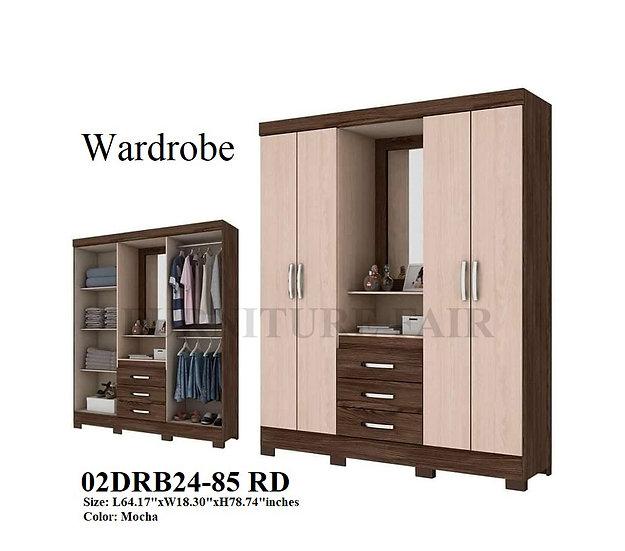 Wardrobe 02DRB24-85 RD