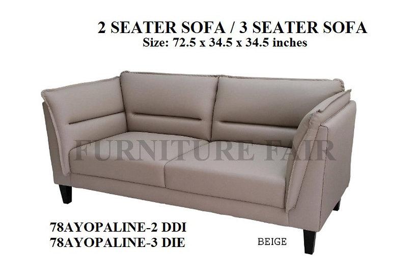 Sofa 3 Seater 78AYOPALINE DDI