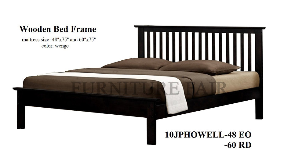Wooden Bedframe 10JPHOWELL-48EO 60YD