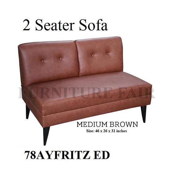 2 Seater Sofa 78AYFRITZ ED