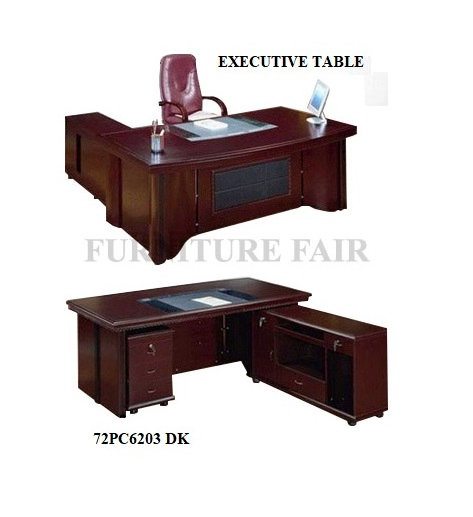 L-type Executive Table 72PC6203_DK