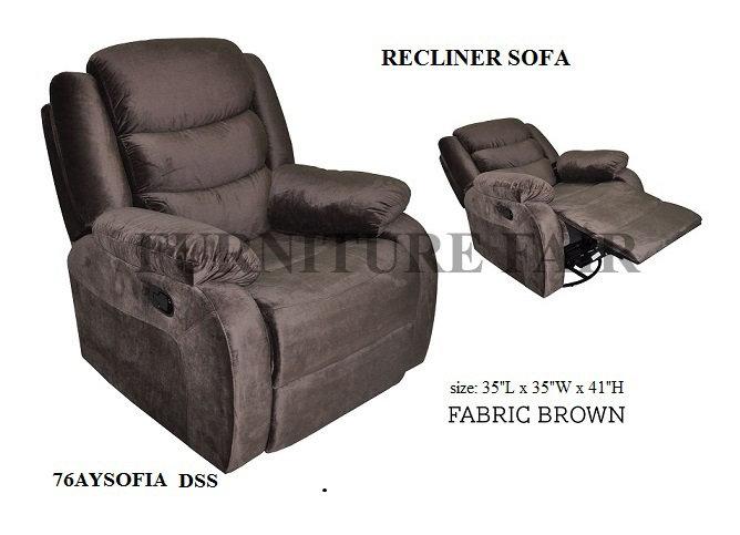 Recliner Sofa 76AYSOFIA DSS