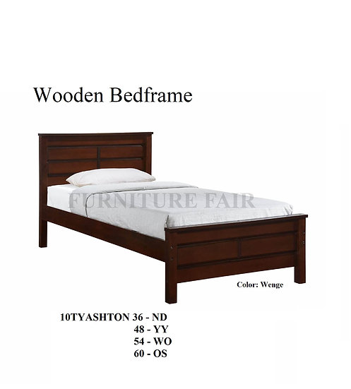 Wooden Bedframe 10TYASHTON 36 - ND