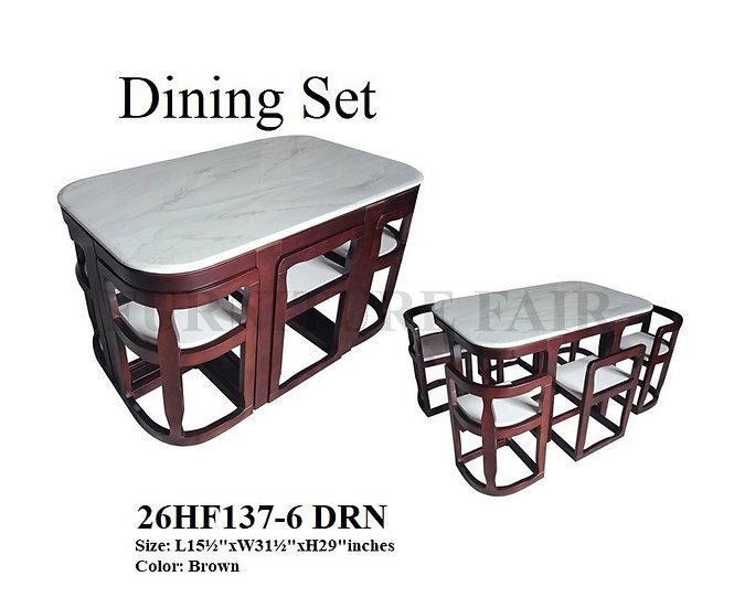 Dining Set 26HF137-6 DRN