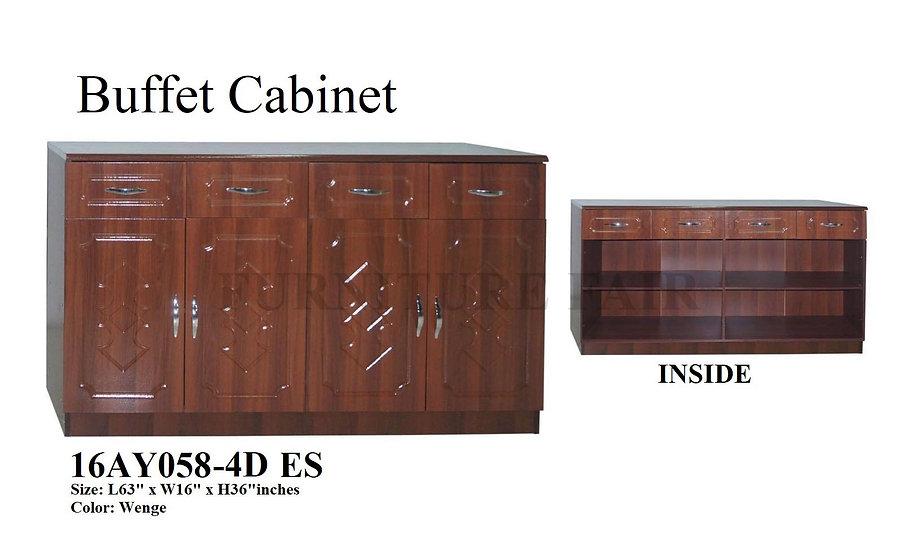 Buffet Cabinet 16AY058-4D ES