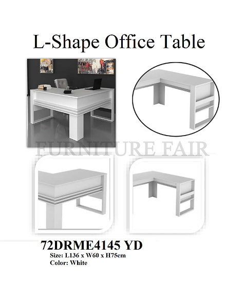 L-Shape Office Table 72DRME4145 YD
