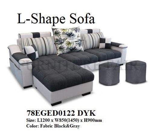 L-Shape Sofa 78EGED0122 DYK
