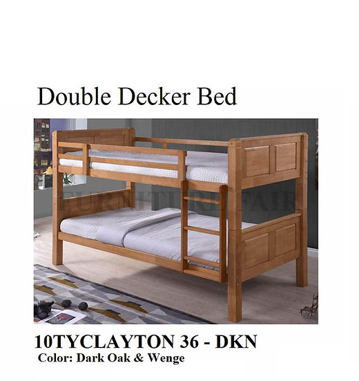 Double Decker Bed 10TYCLAYTON 36- DKN