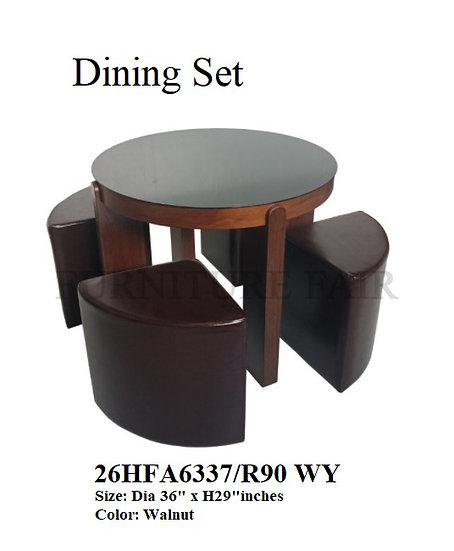 Dining Set 26HFA6337/R90 WY