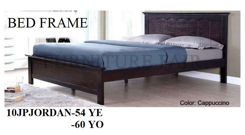 Wooden Bedframe 10JPJORDAN-54YE 60YO