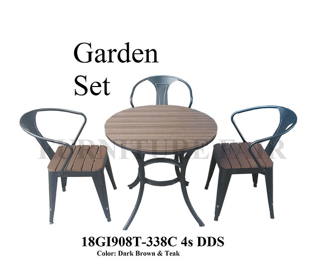 Garden Set 18GI908T-338C 4s DDS