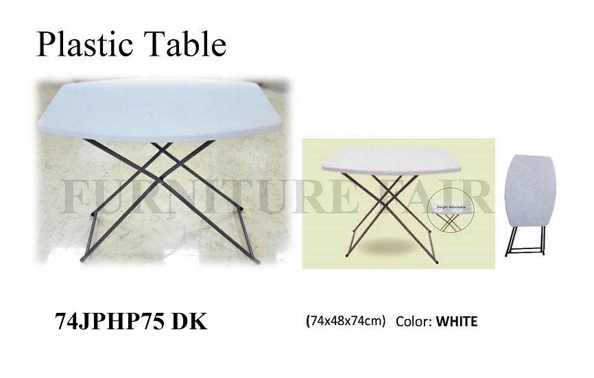 Plastic Table 74JPHP75 DK