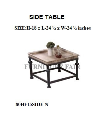 SIDE TABLE 80HF15SIDE N