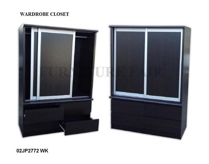 Wardrobe Sliding 2 Door 02JP2772 WK