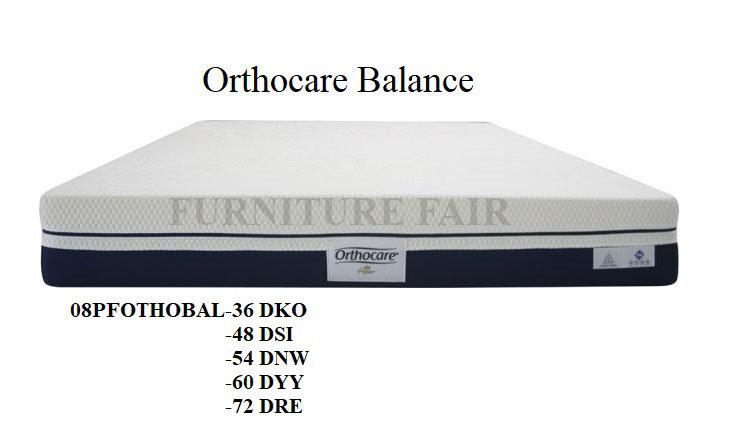Orthocare Balance 08PFORTHOBAL-36DKO 48DSI 54DNW 60DYY 72DRE