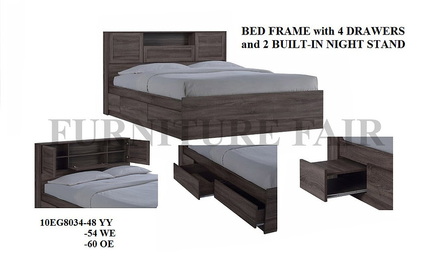Bed Frame Double Size 10EG8034