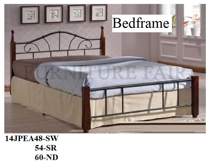 Wooden Post Bed 14JPEA48SW 54SR 60ND