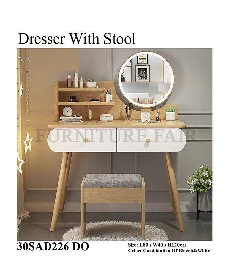 Dresser With Stool 30SAD226 DO