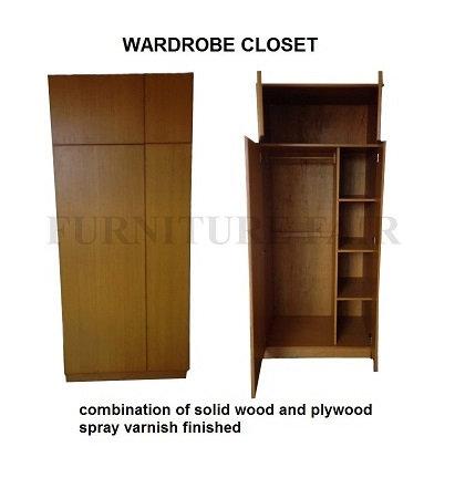 Wardrobe Closet (made-to-order)