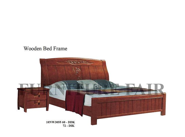 Wooden Bed Frame 10NW3055 DDK