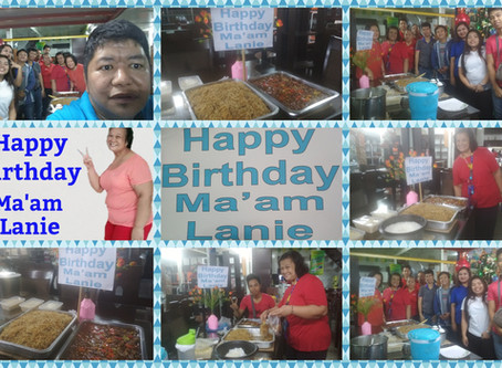 Happy Birthday To Our Golden Girl Ma'am Lanie